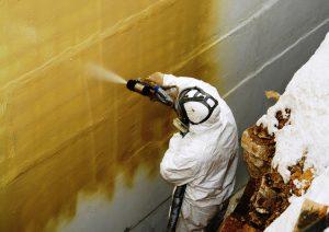покраска промышленных зданий