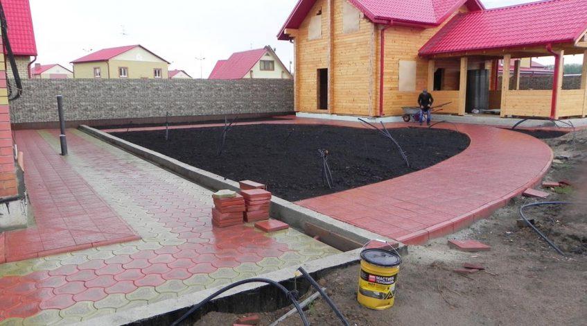 бехатон тротуарная плитка брусчатка